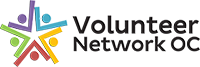 Volunteer Network OC | Helping you help others Logo